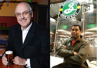 Left to Right: Honourary Sommeliers Bill Taylor & Garrett Oliver