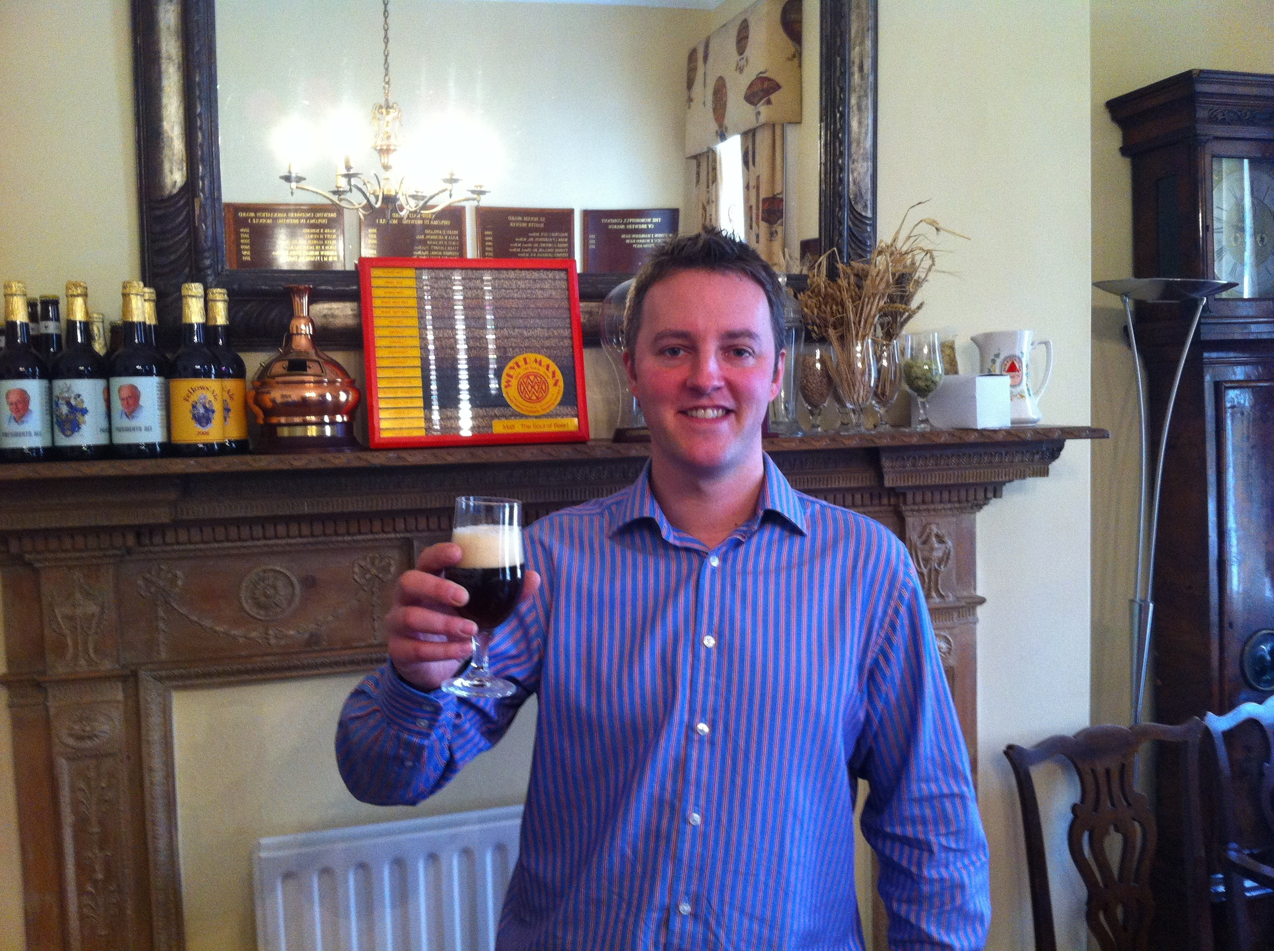 Tom Gee, Oxford, England<br>Accredited on: 20th March 2012