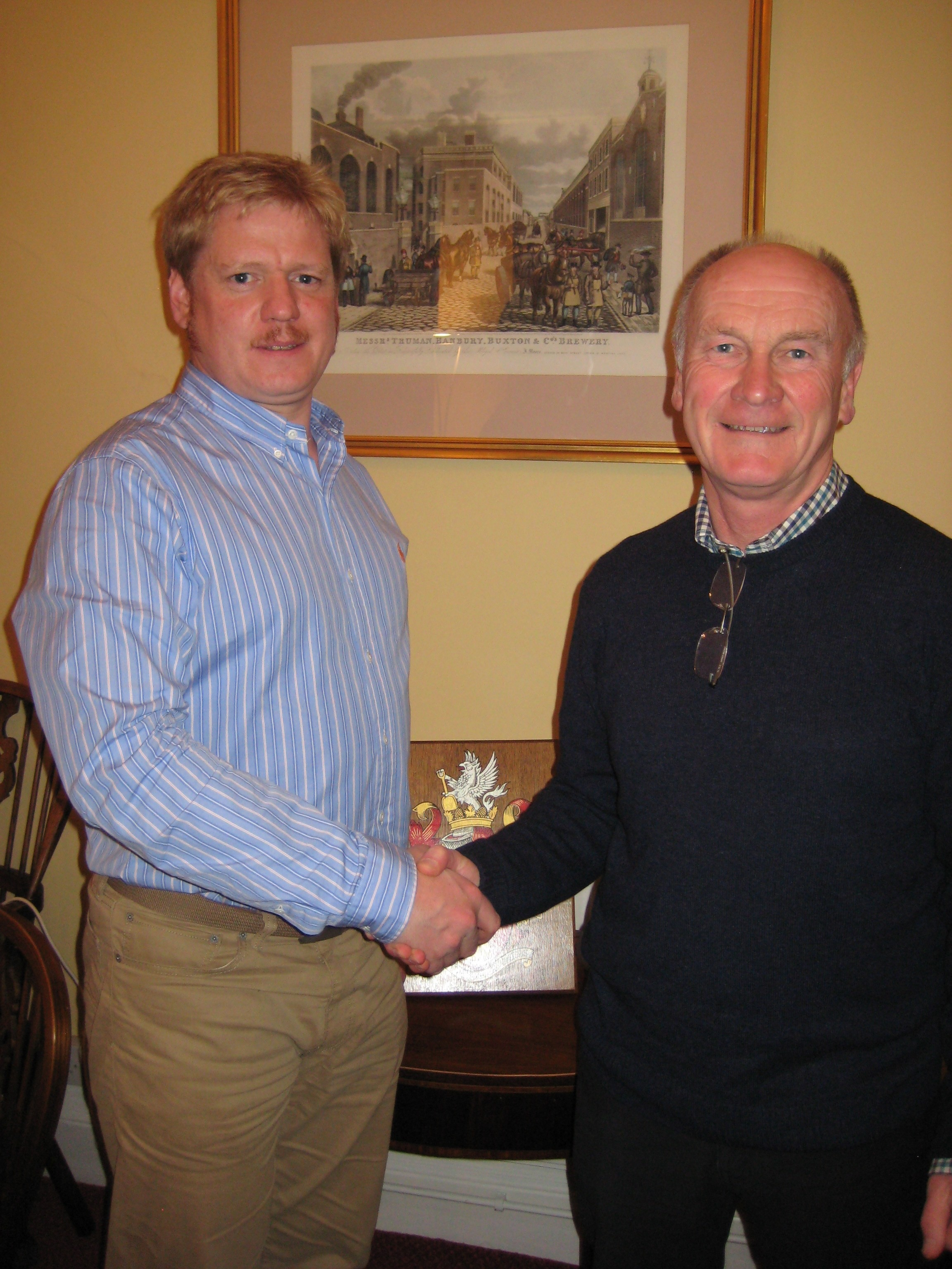 James Clarke, Oxford, England<br>Accredited: 27th November 2012