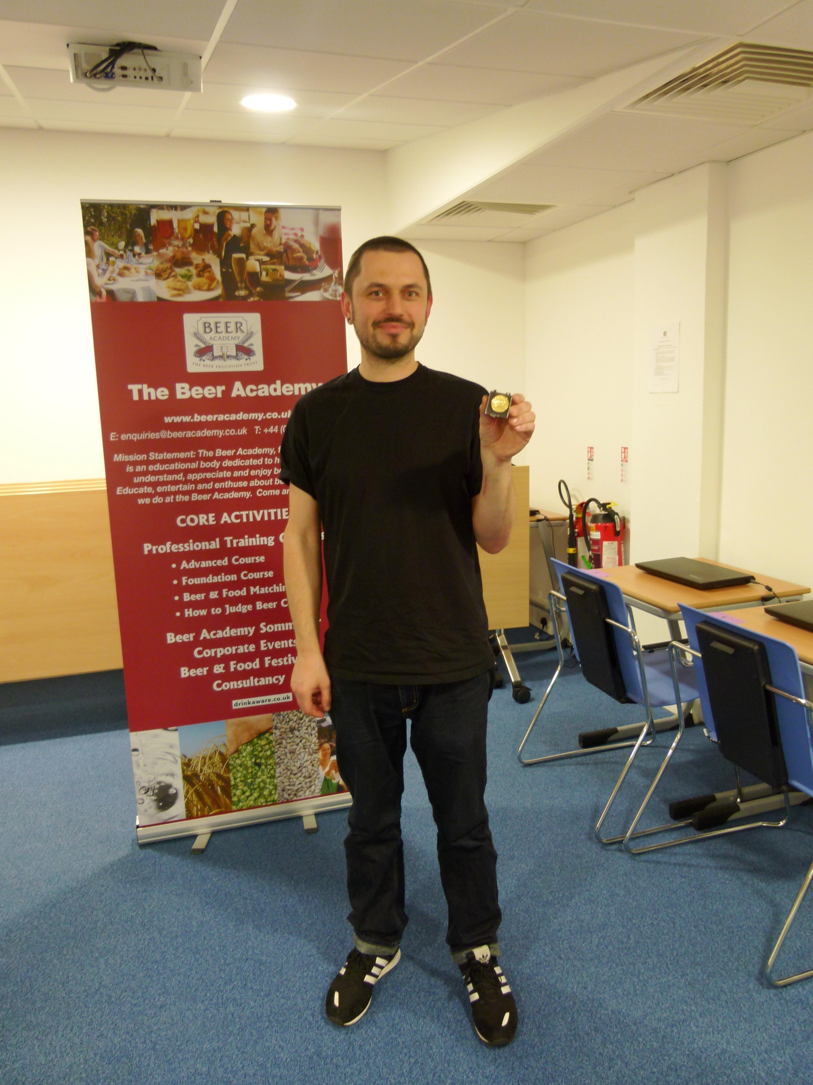 Matthew Hocking, Shrewsbury, England<br>Accredited: 19th November 2015