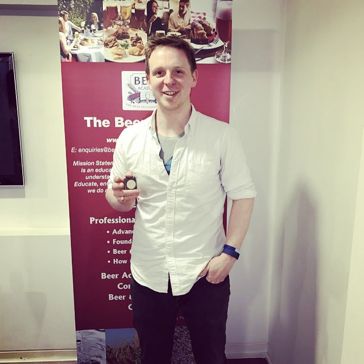 Jamie Percival, London, England<br>Accredited: 30th March 2017