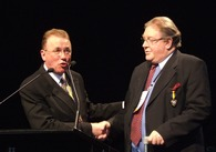 2008 - Professor Graham Stewart (Right)