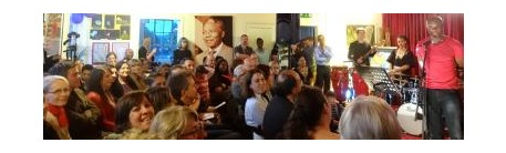 Concert and art exhibition in celebration of Nelson Mandela