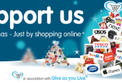 Support us this Christmas just by shopping online!
