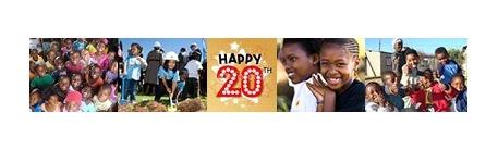 Help us celebrate the Nelson Mandela Children's Fund UK 20th anniversary!