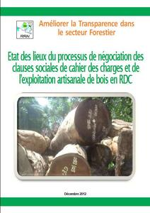 State of play of logging contract social clauses in the DRC